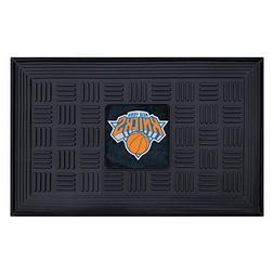 Fanmats 11420 NBA New York Knicks Vinyl Medallion Door Mat