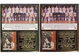 1970 New York Knicks NBA Champions Photo Card Plaque Willis
