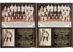 1973 New York Knicks NBA Champions Photo Card Plaque Willis