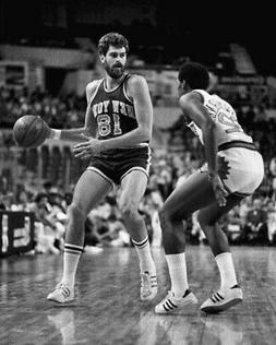 1975 New York Knicks PHIL JACKSON Glossy 8x10 Photo NBA Bask