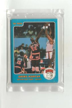 1985-86 Star Company New York Knicks 7-card Team Sealed Set