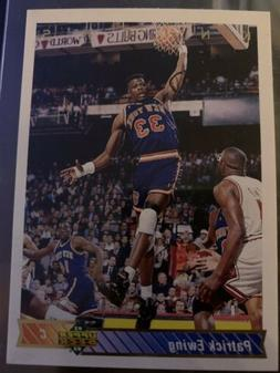 1992-93 Upper Deck Patrick Ewing New York Knicks Mint In Sle