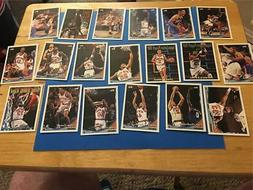 1993/94 Topps New York Knicks Team Set 19 Cards