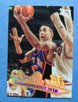 1996 97 new york knicks basketball card