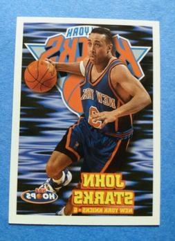 1997-98 Hoops New York Knicks Basketball Card #106 John Star