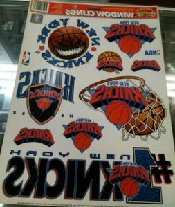 "1997 NBA New York Knicks 11.75"" x 17"" Basketball Decals Stic"