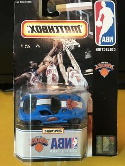1998 Matchbox 1/64 New York Knicks Dodge Viper NIP Diecast C