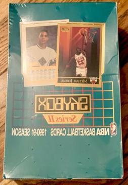 1x 1990-91 Skybox Series II 2 Basketball Factory Sealed Wax