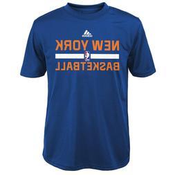 ADIDAS New York Knicks PERFORMANCE nba Jersey Shirt YOUTH K