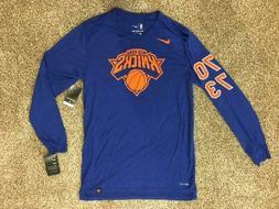 $45 Nike NBA Legacy New York Knicks Long sleeved Shirt S M L