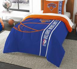Brand New Licensed New York Knicks Comforter Set Blue/orange