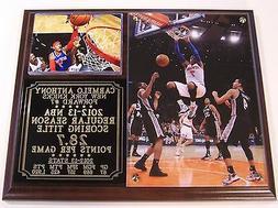 Carmelo Anthony #7 NBA Scoring Title New York Knicks Photo P