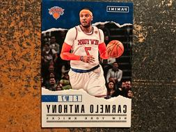 carmelo anthony knicks 2017 panini father s