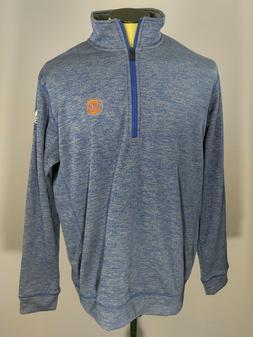 adidas Climawarm NBA New York Knicks Team Issue 1/4 Zip Swea