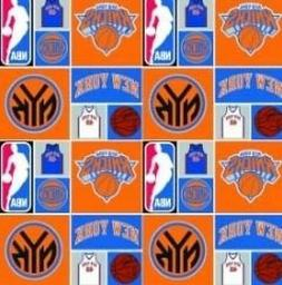 Cotton New York Knicks NBA Basketball Sports Team Cotton Fab