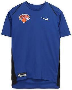 Courtney Lee New York Knicks Player-Worn #5 Blue Short Sleev
