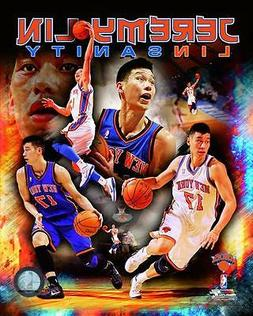 "JEREMY LIN ~ ""Linsanity""  8x10 Color Photo Picture ~ New Yor"