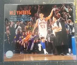 JEREMY LIN NEW YORK KNICKS Unsigned 8 x 10 Photo