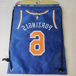 Kristaps Porzingis #6 New York Knicks Jersey Back Pack Sack