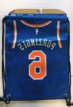 Kristaps Porzingis #6 New York Knicks Jersey Back Pack/Sack