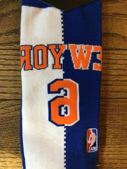 Kristaps Porzingis New York Knicks Stance Split Jersey NBA S