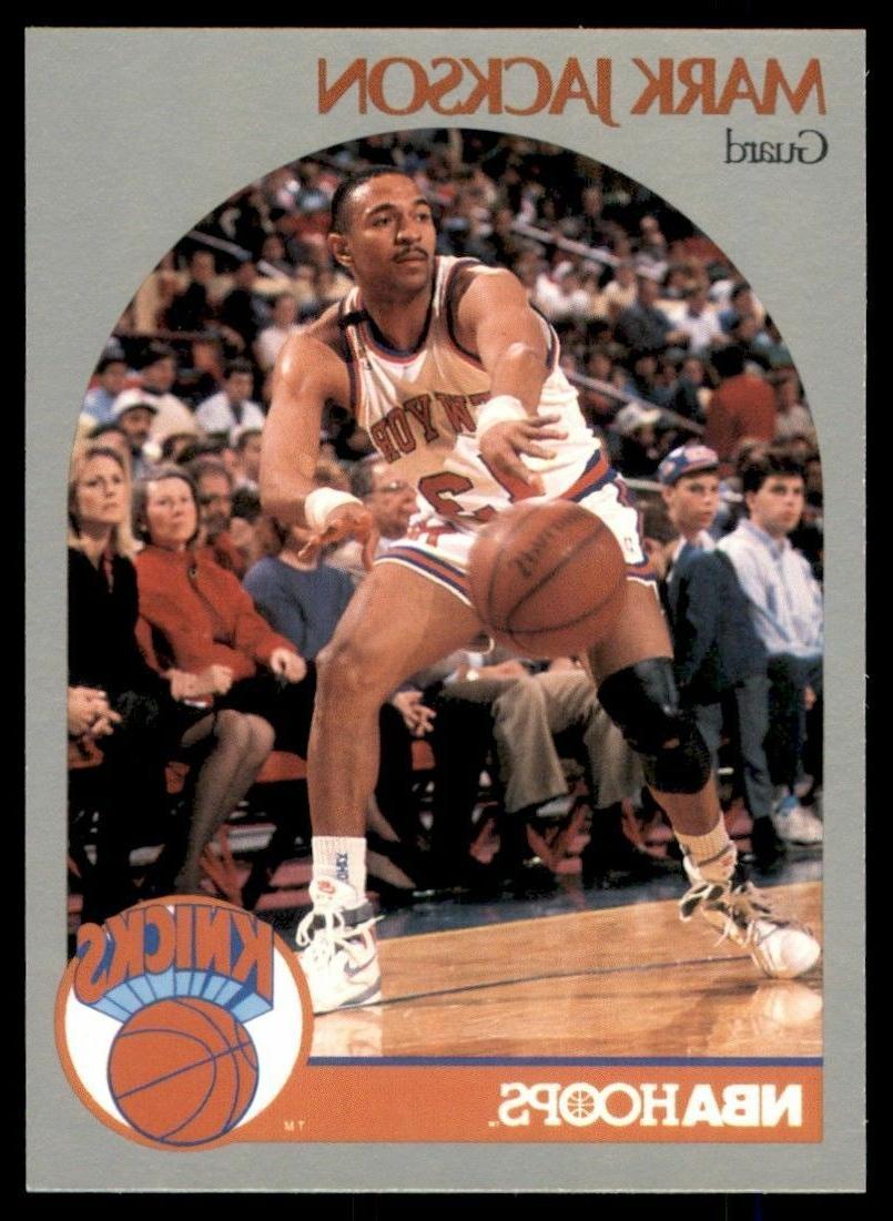 1990 91 basketball card 205 mark jackson