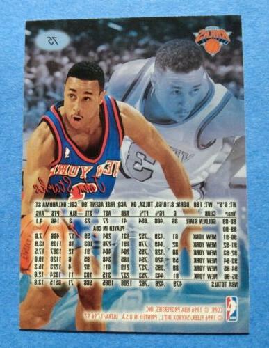 1996-97 Ultra Knicks Basketball Card John