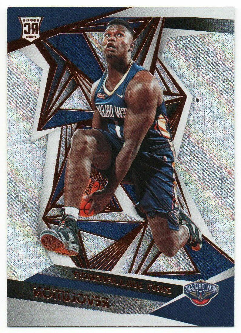 2019 20 panini revolution rookie rc only