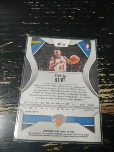 Allonzo Knicks 2019-20 Prizm Pink Cracked
