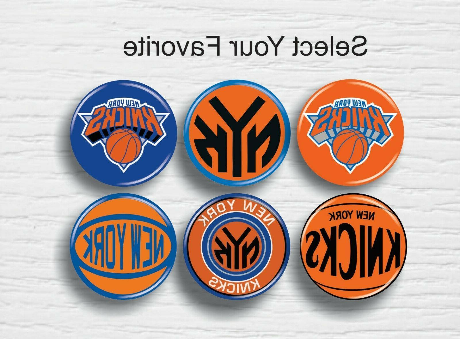 nba new york knicks pinback button 1