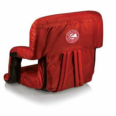 nba ventura portable reclining stadium seat