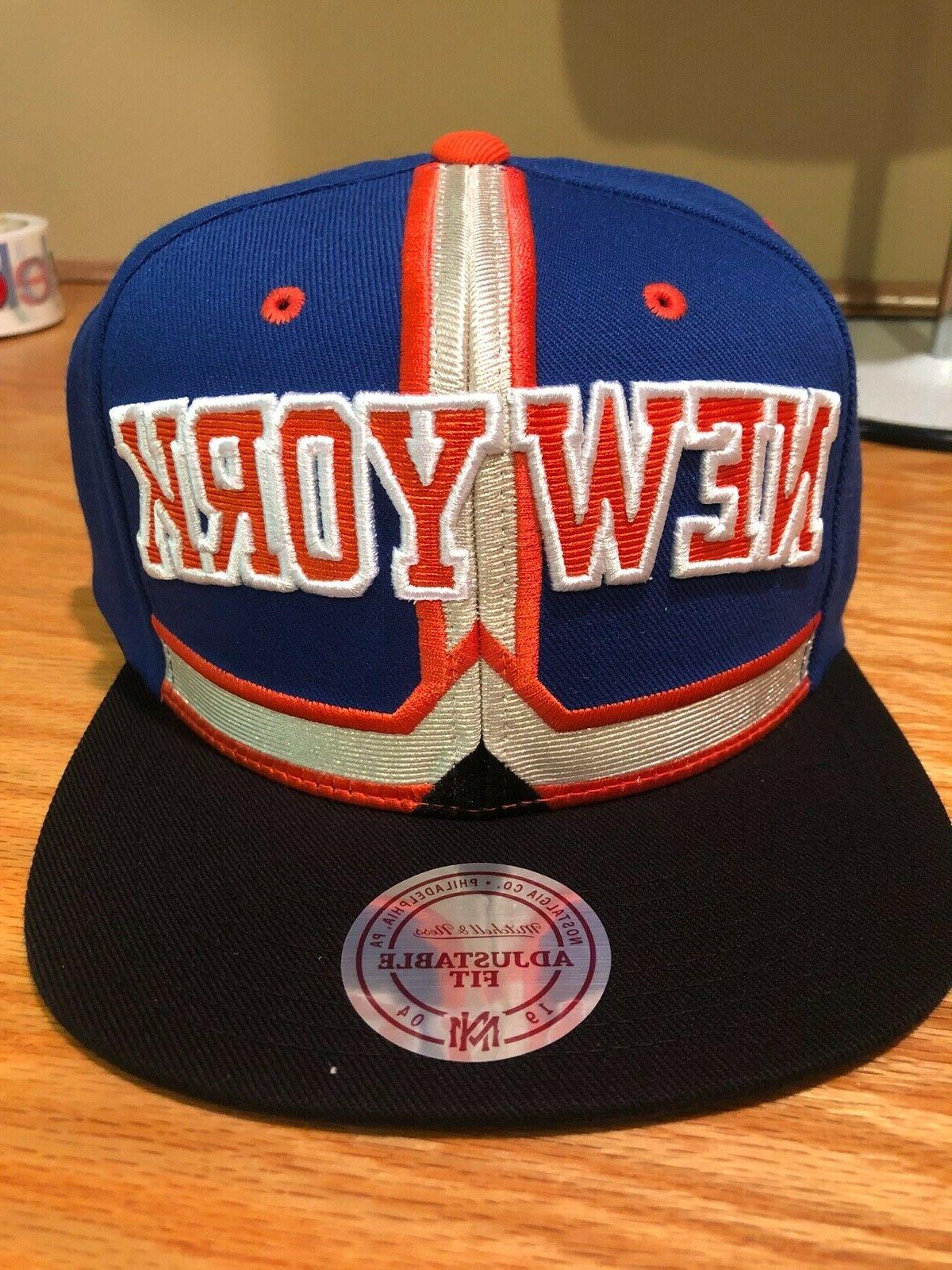 NEW $32 Knicks & Ness NBA Basketball Snapback Cap