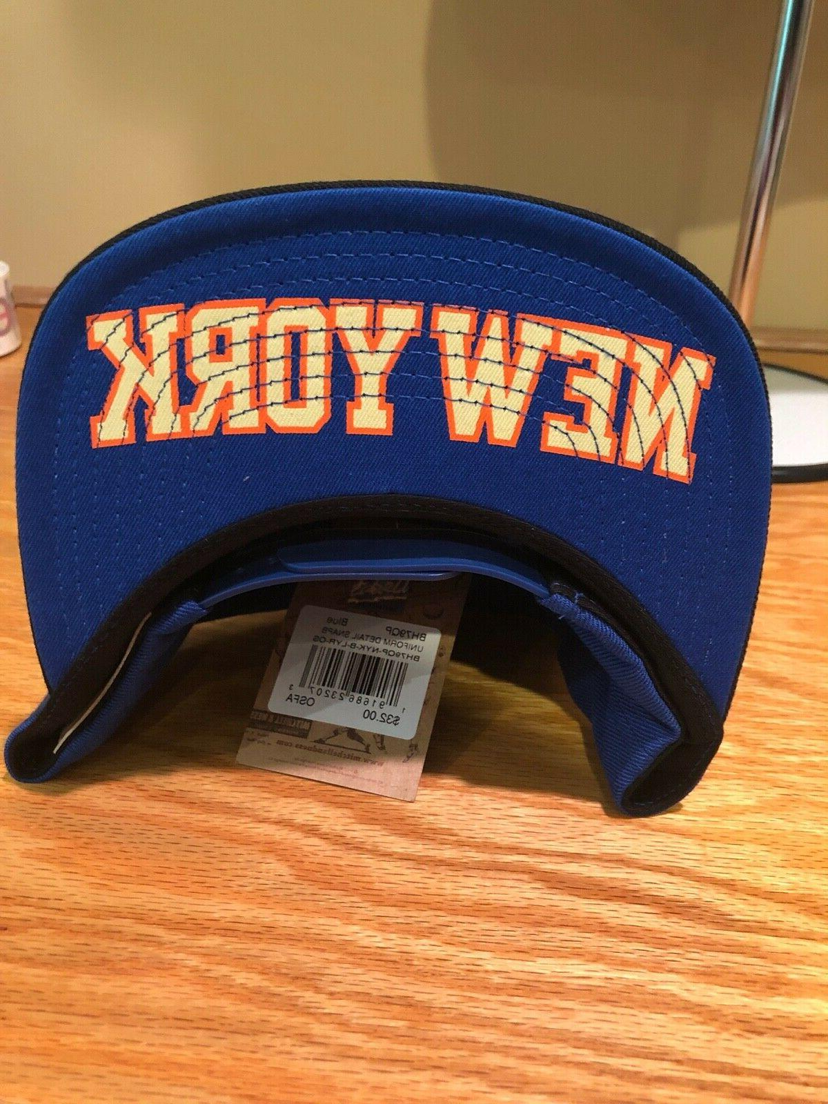 NEW New Knicks Mitchell Ness NBA Cap