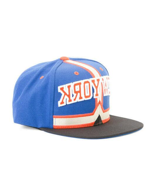 NEW New York Knicks Mitchell NBA Cap