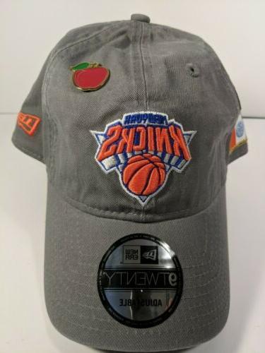 new york knicks blue 9twenty adjustable hat