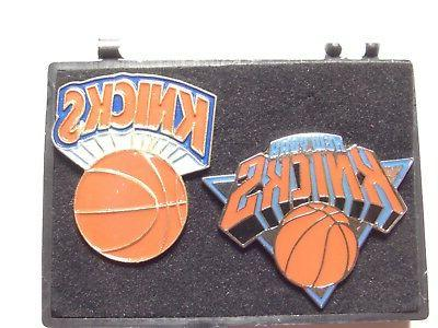 new york knicks collectors pins set of