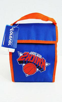 "New York Knicks Lunch Box Bag Cooler Tote New NBA NY 8"" x 11"