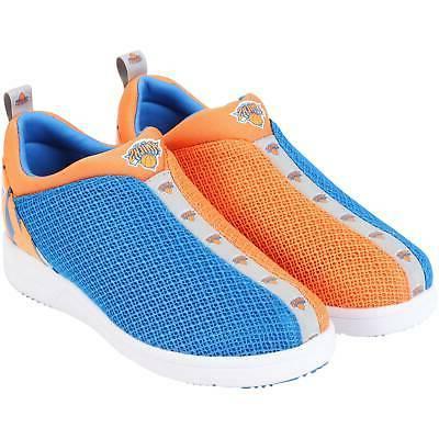 new york knicks mesh shoes blue