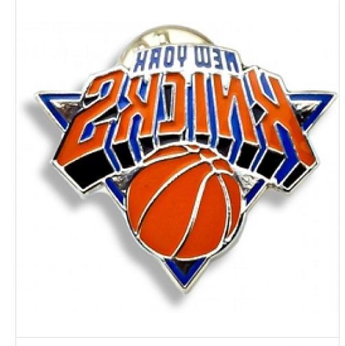new york knicks team logo lapel hat