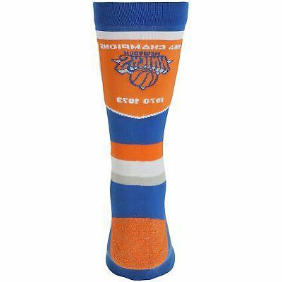 New York Knicks Trophy Banner Socks