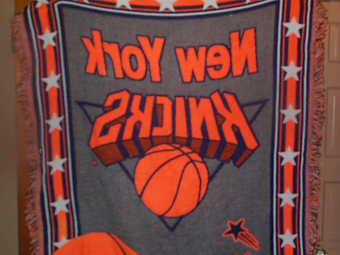 new york knicks x large blanket throw