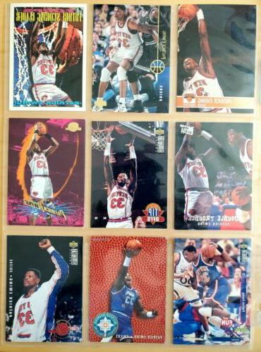 Knicks Lot of Different Trading Cards