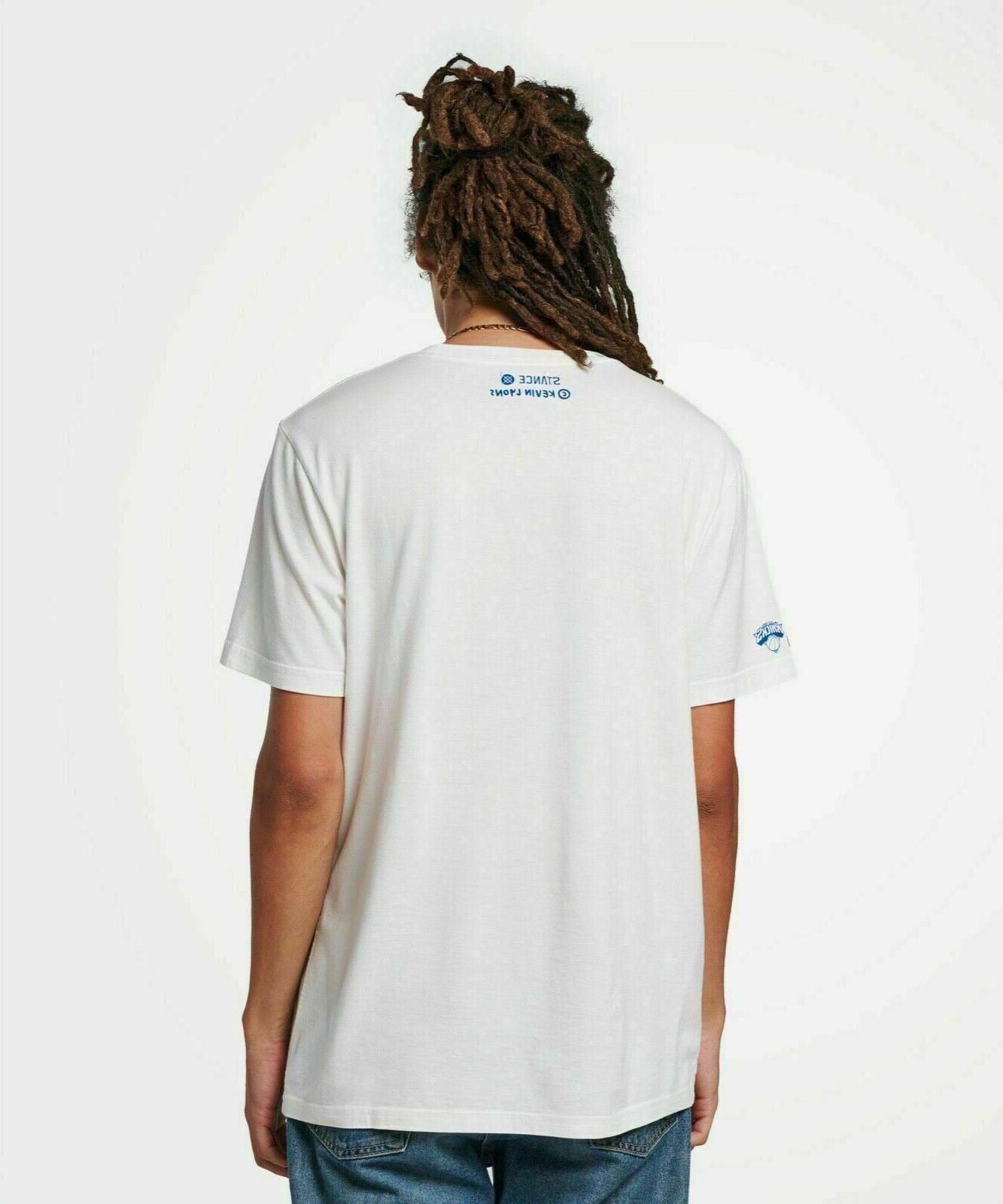 Stance x Lyons New Knicks sz XL Mens White Butter Blend T Shirt