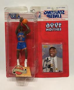 LARRY JOHNSON New York Knicks Starting Lineup SLU 1996 NBA A