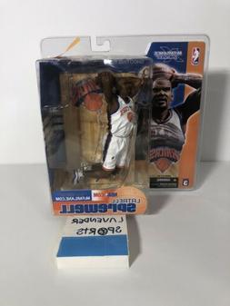 Latrell Sprewell New York Knicks Action Figure McFarlane Ser
