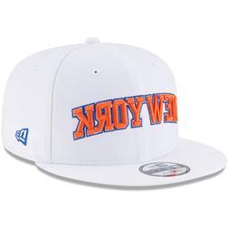Men's New York Knicks New Era White Statement Edition 9FIFTY