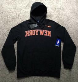 Nike Men's New York Knicks Basketball Wordmark Hoodie Swea