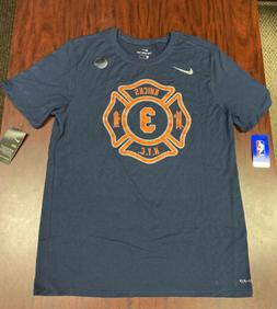 Mens New York Knicks Tim Hardaway Jr #3 DriFit FDNY NYC Blue