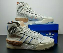 Mens Adidas Originals Rivalry Hi RM New York Knicks White AH