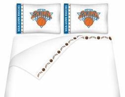 Microfiber Sheet Set NBA Basketball New York Knicks - Twin,